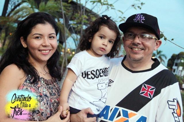 Mayra, Renata e Mauro